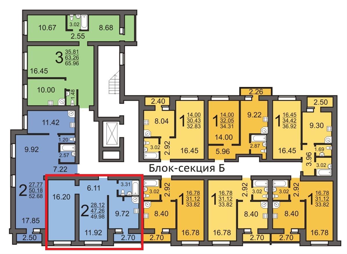 Продам 2-комнатную квартиру в городе Саратов, на улице Миллеровская,  15, 4-этаж 10-этажного кирпичный дома, площадь: 49.96/28/10 м2