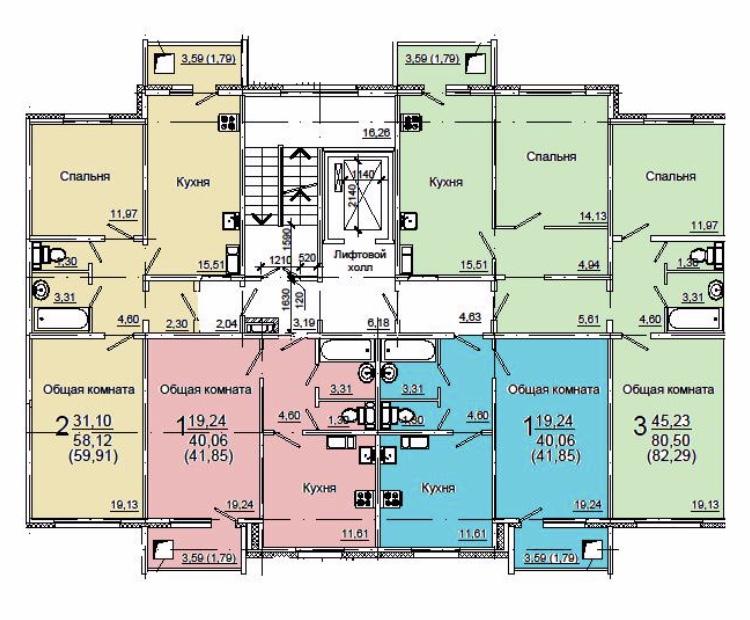 Продам 2-комнатную квартиру в городе Энгельс, на улице проспект Химиков,  3Г, 6-этаж 10-этажного панельный дома, площадь: 62.2/32/10 м2