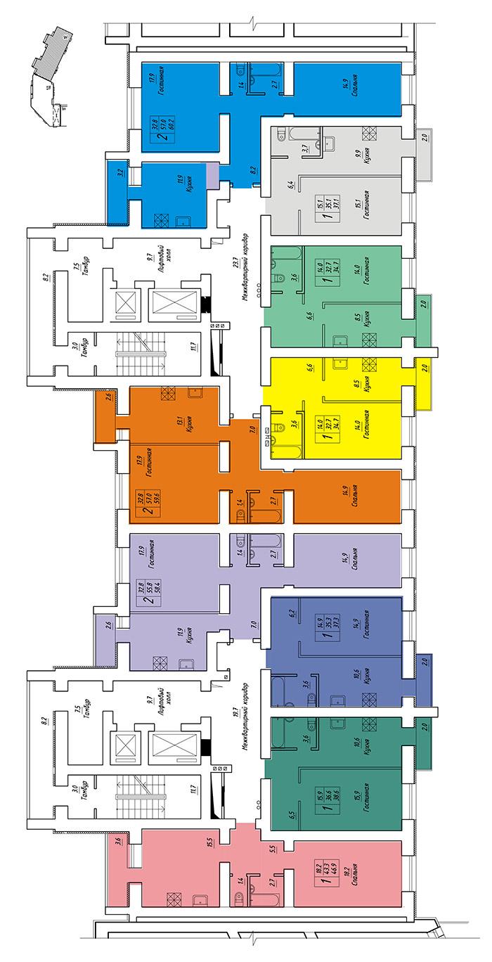Продам 1-комнатную квартиру в городе Саратов, на улице им Блинова Ф.А.,  50в, 13-этаж 14-этажного кирпичный дома, площадь: 37.29/0/9.9 м2