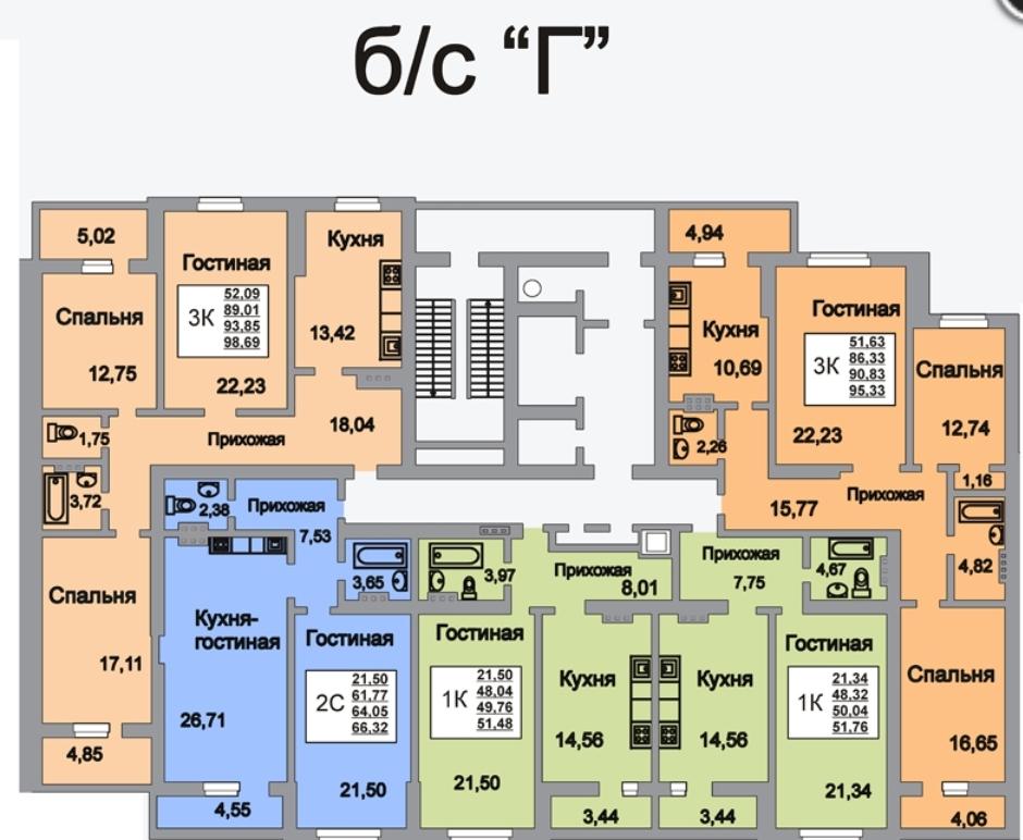 Продам 2-комнатную квартиру в городе Саратов, на улице территория Новосоколовогорский жилой район,  10, 3-этаж 18-этажного монолит дома, площадь: 67/39.61/26.71 м2